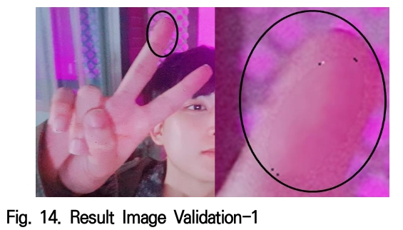 Fig. 14. Result Image Validation-1