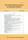 The international journal of costume culture