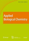 한국응용생명화학회지 = Journal of the Korean Society for Applied Biological Chemistry